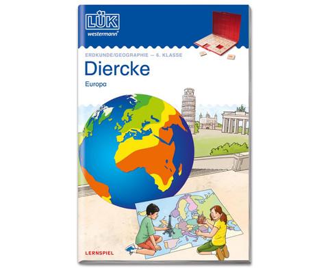 LUEK Diercke Erdkunde 6 Klasse Europa