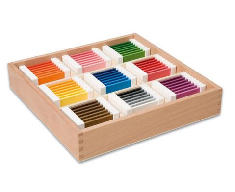 Nienhuis Farbtaefelchen Schattierungskasten mit 9 Farben
