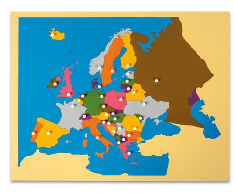 Nienhuis Puzzlekarte Europa