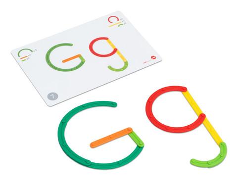 GeoStix Buchstaben-Set