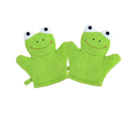 Betzold Waschhandschuh Frosch 2er-Set