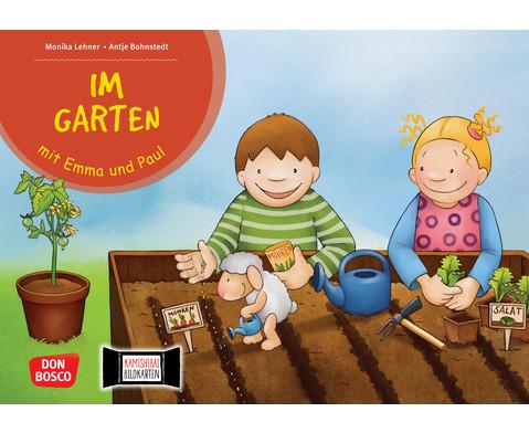 Im Garten mit Emma und Paul Kamishibai-Bildkartenset