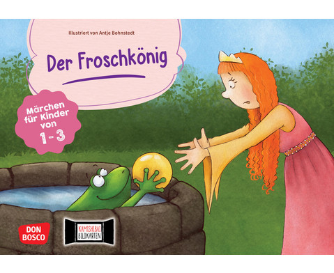 Der Froschkoenig Kamishibai-Bildkartenset fuer U3