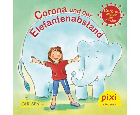 Pixi 24er-Set Corona und der Elefantenabstand
