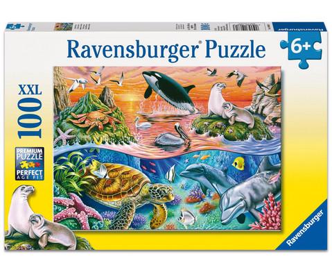 Ravensburger Puzzle XXL Bunter Ozean 100 Teile