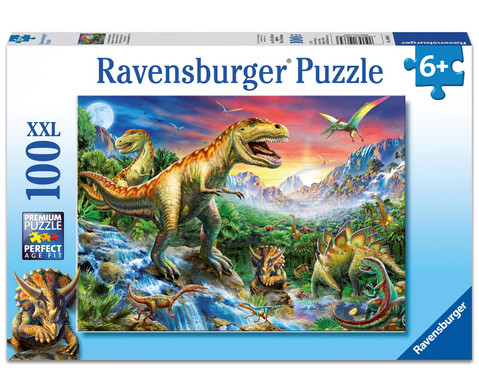 Ravensburger Puzzle XXL Bei den Dinosauriern 100 Teile