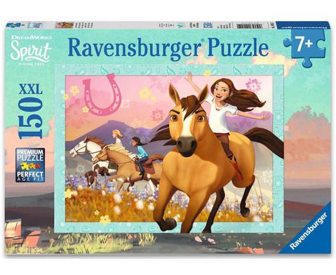 Ravensburger Puzzle XXL Spirit wild und frei 150 Teile