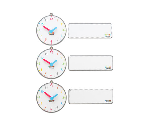 Betzold Tagestransparenz-Uhren 3 Stueck