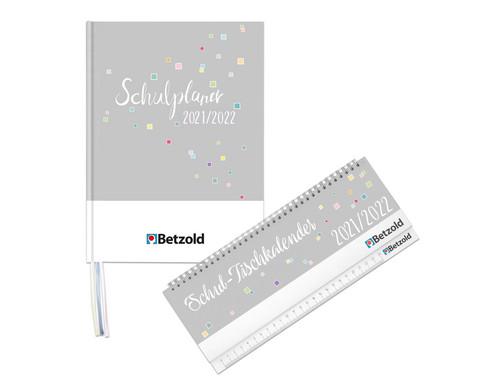 Betzold Design-Schulplaner-Set Planer und Tischkalender
