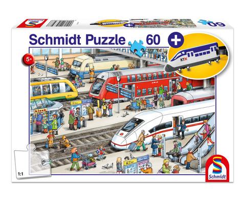 Puzzle Am Bahnhof 60 Teile