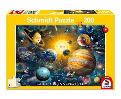 Puzzle Unser Sonnensystem 200 Teile