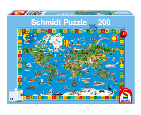 Puzzle Deine bunte Erde