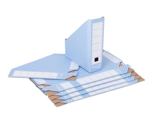 Stehsammler aus Karton 10 Stueck