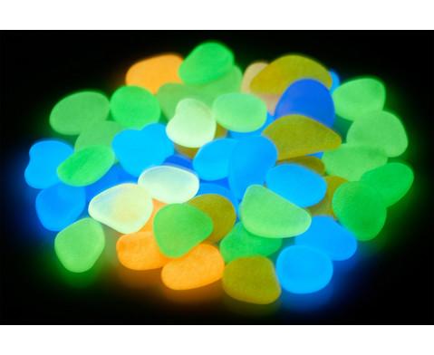 Leuchtkiesel Glow in the Dark 50 Stueck
