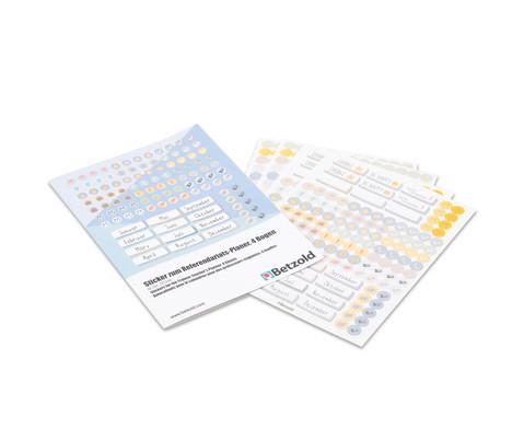 Betzold Sticker zum Referendariats-Planer 4 Boegen