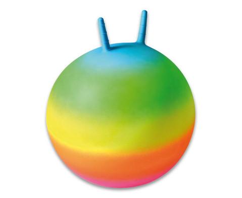 Regenbogen-Huepfball