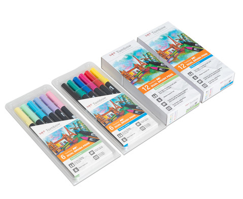 Tombow Dual Brush Pens Sets