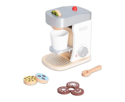 Holz-Kaffeemaschine
