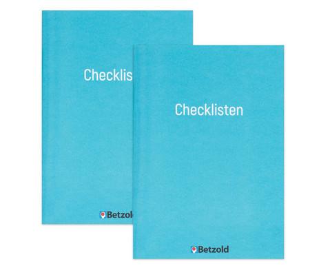 Betzold Orgaheft Checklisten 2 Stueck