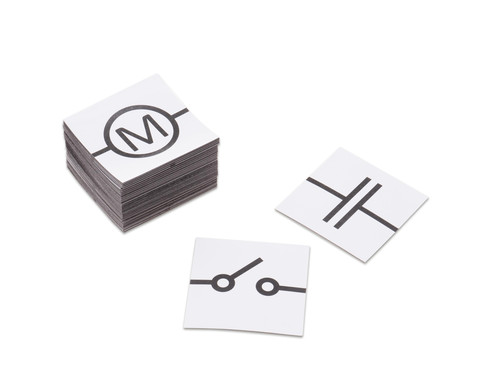 Schaltkreis magnetisches Tafelmaterial