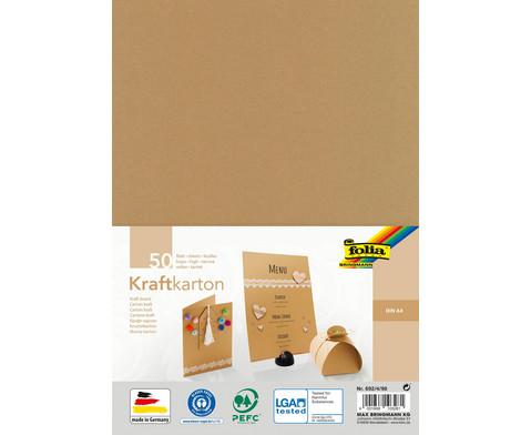 Kraftkarton DIN A4 230 g-m 50 Blatt