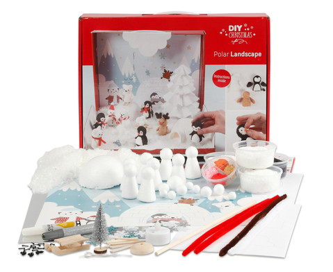 Foam Clay Bastel-Set Polarlandschaft