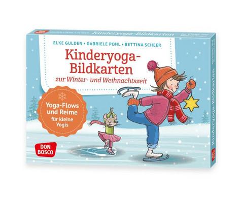 Kinderyoga-Bildkarten Winter- und Weihnachtszeit
