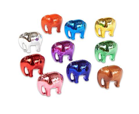 Glaenzende Zaehl-Elefanten 10er-Set