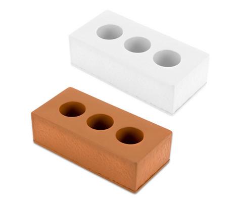Ziegelsteine aus Schaumstoff 25 Stueck
