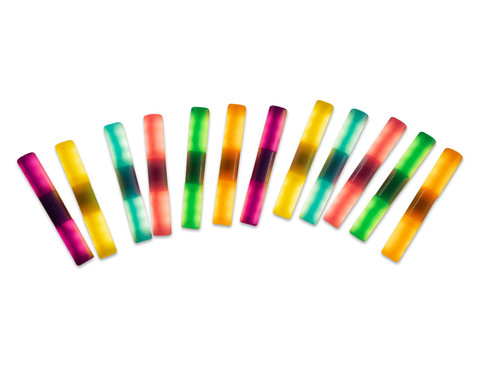 Farb-Licht-Staebe 12-tlg