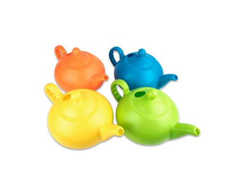 Outdoor-Kunststoff-Teekanne gross 4 Stueck