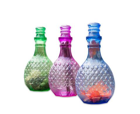 Grosse Zaubertrankflaschen 3 Stueck