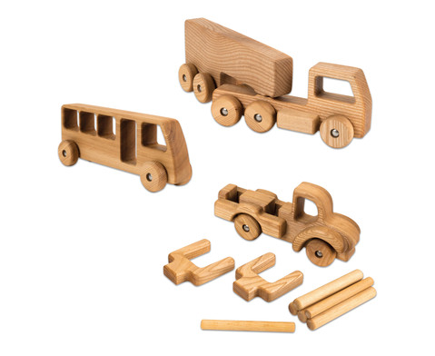 Holzfahrzeuge