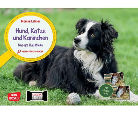 Hund Katze und Kaninchen Unsere Haustiere Kamishibai-Bildkartenset