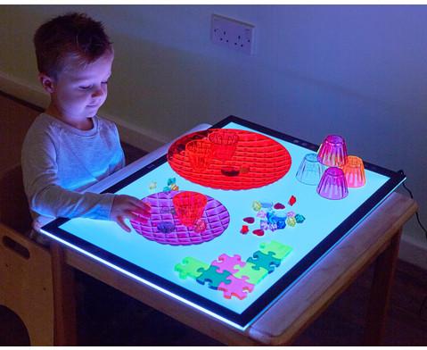 Farbwechselnder Lichttisch