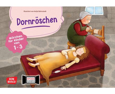 Dornroeschen Kamishibai-Bildkartenset fuer U3