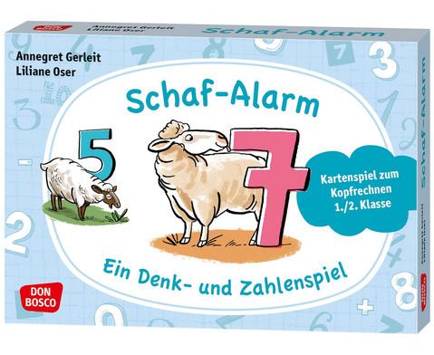 Schaf-Alarm Ein Denk- und Zahlenspiel