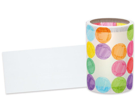 25 Blatt Laternen-Zuschnitte transparent