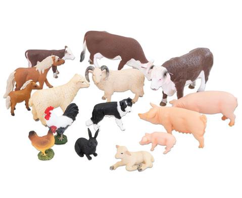 Betzold Bauernhof-Tiere 15-tlg