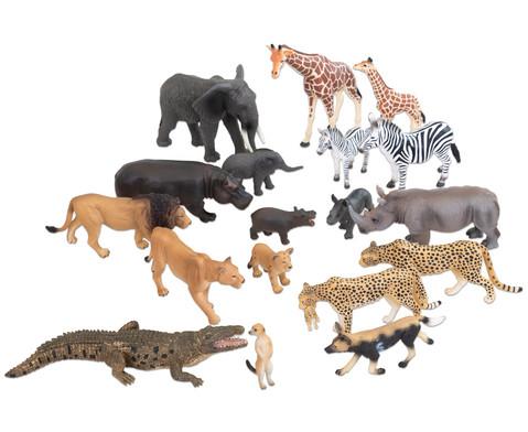 Betzold Afrikanische Tiere 18-tlg Set