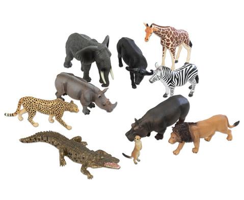 Betzold Afrikanische Tiere 10-tlg Set