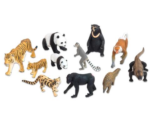Asiatische Tiere 11-tlg Set