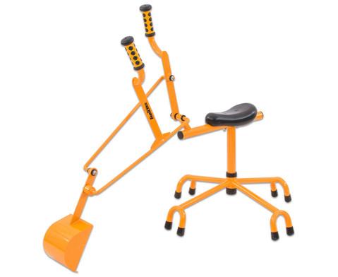 edumero Sitzbagger für Sandkasten