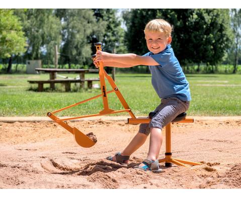 Sitzbagger fuer Sandkasten-2