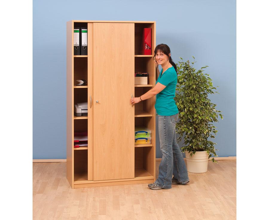 schrank ohne mittelwand mit 4 b den tiefe 40 cm breite 95 cm. Black Bedroom Furniture Sets. Home Design Ideas