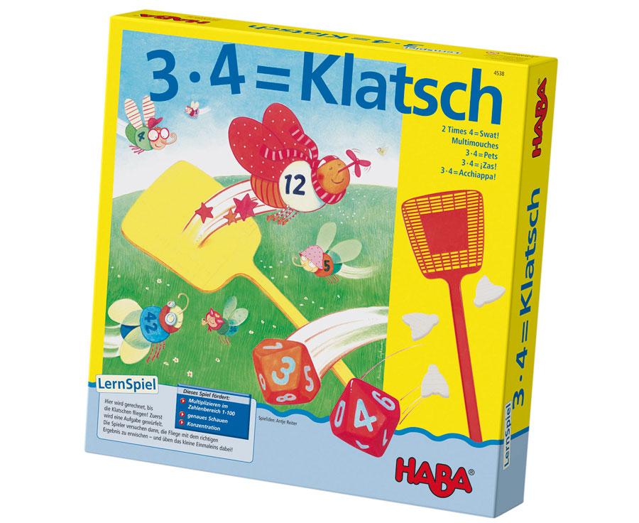 Haba 3x4=Klatsch