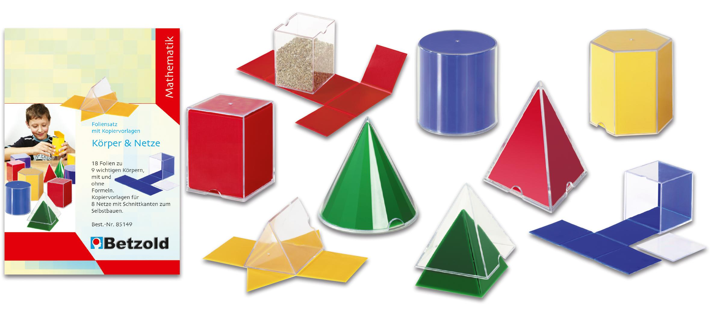 geometriesatz k246rper und netze geometrie geometrische