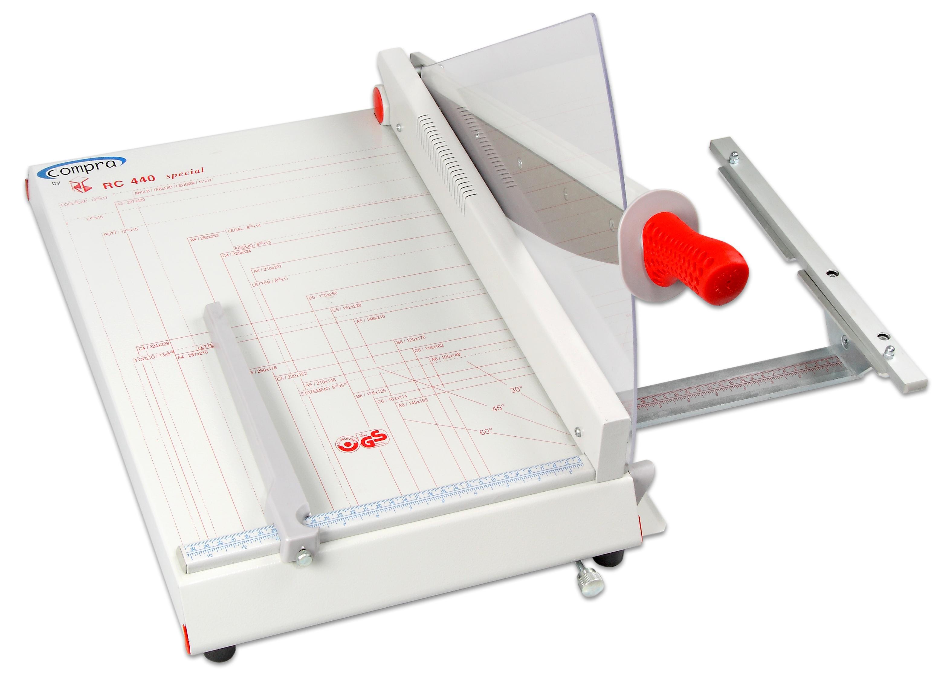 Compra Schneidemaschine Papier A3, mit ausklappbarer Papierstütze ...
